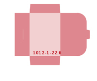 eingeklebte CD-ROM Tasche Stanzwerkzeug 1012-(1)-22.6 Mappen-Füllhöhe: 6mm Mappen beidseitig drucken stanzen & falten