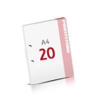 2-fach Bohrung Notizblöcke mit  20 Blatt Notizblöcke einseitig drucken
