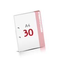 2-fach Bohrung Notizblöcke mit  30 Blatt Notizblöcke einseitig drucken