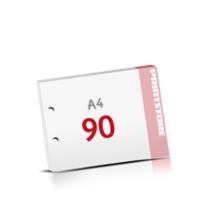 2-fach Bohrung Notizblöcke mit  90 Blatt Notizblöcke einseitig drucken