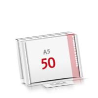 Flachverpackung Notizblöcke mit  50 Blatt Notizblöcke einseitig drucken