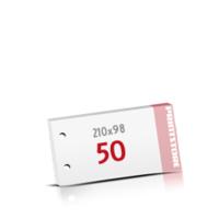 2-fach Bohrung Notizblöcke mit  50 Blatt Notizblöcke einseitig drucken
