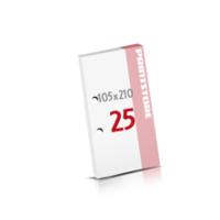 2-fach Bohrung Notizblöcke mit  25 Blatt Notizblöcke einseitig drucken