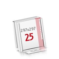 Flachverpackung Notizblöcke mit  25 Blatt Notizblöcke einseitig drucken