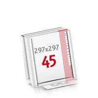 Flachverpackung Notizblöcke mit  45 Blatt Notizblöcke einseitig drucken
