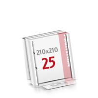 2-fach Bohrung Flachverpackung Notizblöcke mit  25 Blatt Notizblöcke einseitig drucken