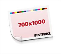 Sammel-Formen drucken  1-6 färbige Schöndrucke nutzenmontierter Standbogen Bogenformat 700x1000mm einseitig bedruckte Planobogen