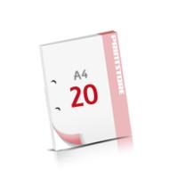 2-fach Bohrung Notizblöcke mit  20 Blatt Notizblöcke beidseitig drucken
