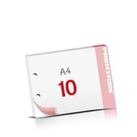 2-fach Bohrung Notizblöcke mit  10 Blatt Notizblöcke beidseitig drucken