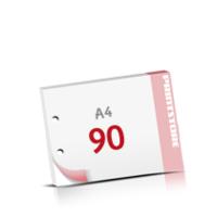 2-fach Bohrung Notizblöcke mit  90 Blatt Notizblöcke beidseitig drucken