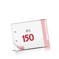 2-fach Bohrung Notizblöcke mit  150 Blatt Notizblöcke beidseitig drucken