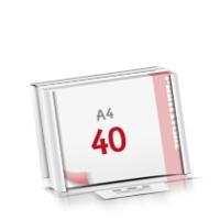 Flachverpackung Notizblöcke mit  40 Blatt Notizblöcke beidseitig drucken