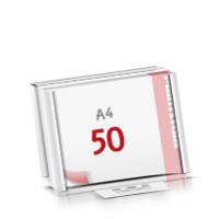 Flachverpackung Notizblöcke mit  50 Blatt Notizblöcke beidseitig drucken
