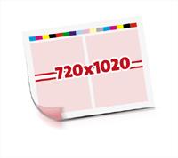 Druck-Bogen drucken  1-6 färbige Druck-Bogen ausgeschossener Druck-Bogen Bogenformat 720x1020mm beidseitig bedruckte Druck-Bogen
