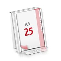 Flachverpackung Notizblöcke mit  25 Blatt Notizblöcke beidseitig drucken