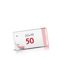 2-fach Bohrung Notizblöcke mit  50 Blatt Notizblöcke beidseitig drucken