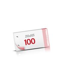2-fach Bohrung Notizblöcke mit  100 Blatt Notizblöcke beidseitig drucken