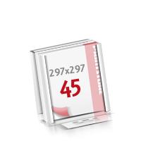 Flachverpackung Notizblöcke mit  45 Blatt Notizblöcke beidseitig drucken
