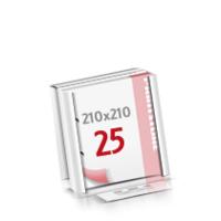 2-fach Bohrung Flachverpackung Notizblöcke mit  25 Blatt Notizblöcke beidseitig drucken