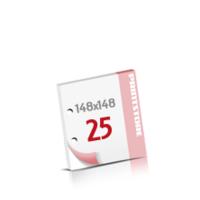 2-fach Bohrung Notizblöcke mit  25 Blatt Notizblöcke beidseitig drucken