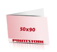 Klappvisitenkarten drucken Visitenkartenformat 90x50mm  4 färbige Klappvisitenkarten beidseitig bedruckte Klappvisitenkarten Office-Drucksorten