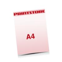 A4 (210x297mm) Briefpapiere mit bis zu  6 Druckfarben drucken einseitiger Druck