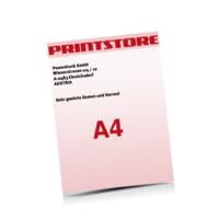 A4 (210x297mm) Personalisierung, CMYK der Euroskala Briefpapiere mit bis zu  6 Druckfarben drucken einseitiger Druck einseitige Personalisierung