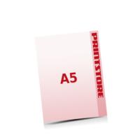 A5 (148x210mm) Stanzwerkzeug Pfeil Gestanzte Flugblätter mit bis zu  6 Druckfarben drucken
