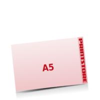 A5  quer (210x148mm) Stanzwerkzeug Schneeflocke Gestanzte Flugblätter mit bis zu  6 Druckfarben drucken einseitiger getanzte Flugblätter drucken