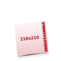 210x210mm Stanzwerkzeug Rund Gestanzte Flugblätter mit bis zu  6 Druckfarben drucken einseitiger getanzte Flugblätter drucken