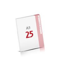 Digitaldruck Notizblöcke mit  25 Blatt Digitaldruck Notizblöcke einseitig drucken