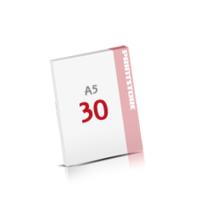 Digitaldruck Notizblöcke mit  30 Blatt Digitaldruck Notizblöcke einseitig drucken