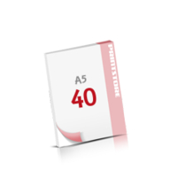 Digitaldruck Notizblöcke mit  40 Blatt Digitaldruck Notizblöcke beidseitig drucken