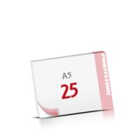 Digitaldruck Notizblöcke mit  25 Blatt Digitaldruck Notizblöcke beidseitig drucken