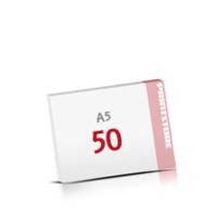 Digitaldruck Notizblöcke mit  50 Blatt Digitaldruck Notizblöcke einseitig drucken
