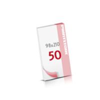 Digitaldruck Notizblöcke mit  50 Blatt Digitaldruck Notizblöcke beidseitig drucken