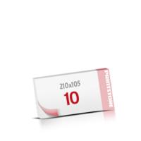 Digitaldruck Notizblöcke mit  10 Blatt Digitaldruck Notizblöcke beidseitig drucken