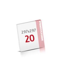 Digitaldruck Notizblöcke mit  20 Blatt Digitaldruck Notizblöcke einseitig drucken