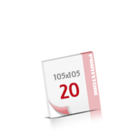 Digitaldruck Notizblöcke mit  20 Blatt Digitaldruck Notizblöcke beidseitig drucken