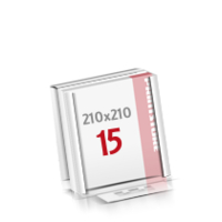 Flachverpackung Digitaldruck Notizblöcke mit  15 Blatt Digitaldruck Notizblöcke einseitig drucken