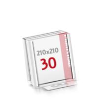Flachverpackung Digitaldruck Notizblöcke mit  30 Blatt Digitaldruck Notizblöcke einseitig drucken