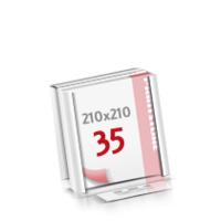 Flachverpackung Digitaldruck Notizblöcke mit  35 Blatt Digitaldruck Notizblöcke beidseitig drucken