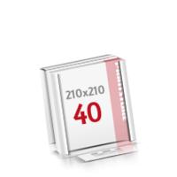 Flachverpackung Digitaldruck Notizblöcke mit  40 Blatt Digitaldruck Notizblöcke einseitig drucken