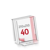 Flachverpackung Digitaldruck Notizblöcke mit  40 Blatt Digitaldruck Notizblöcke beidseitig drucken