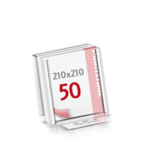 Flachverpackung Digitaldruck Notizblöcke mit  50 Blatt Digitaldruck Notizblöcke beidseitig drucken