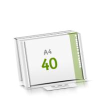 Microwellkarton Seminarblöcke mit  40 Blättern Seminarblöcke einseitig bedrucken