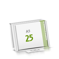 Microwellkarton Seminarblöcke mit  25 Blättern Seminarblöcke einseitig bedrucken