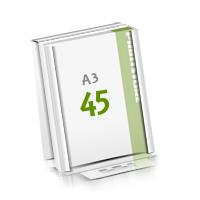 Microwellkarton Seminarblöcke mit  45 Blättern Seminarblöcke einseitig bedrucken