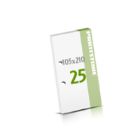 2-fach Bohrung Seminarblöcke mit  25 Blättern Seminarblöcke einseitig bedrucken