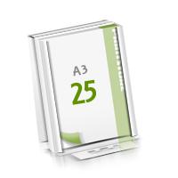 Microwellkarton Seminarblöcke mit  25 Blättern